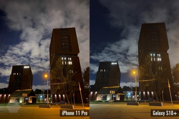 Сравнение ночных снимков iPhone 11 Pro с флагманами конкурентов12