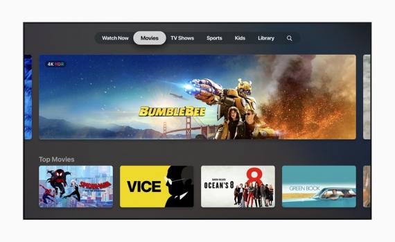 Новое приложение Apple TV и подписка на контент телеканалов TV Channels1