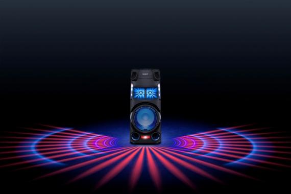 Sony представила четыре моноблочные аудиосистемы для вечеринок3