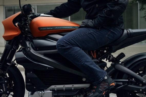 Harley-Davidson представила электрический мотоцикл LiveWire3