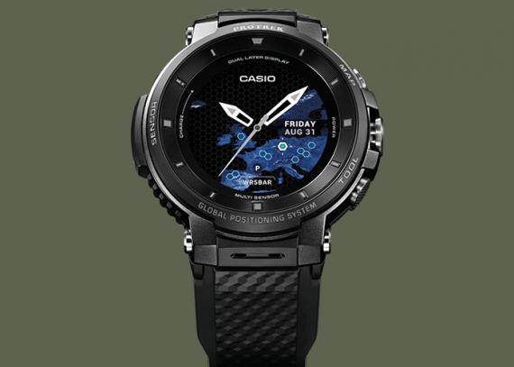 Умные часы Casio WSD-F30 протянут три дня без подзарядки2