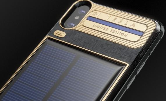 Caviar начала продажи iPhone X с солнечной батареей6