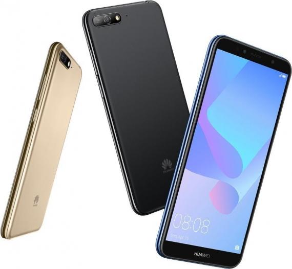 Huawei анонсировала доступный смартфон Y6 (2018)1