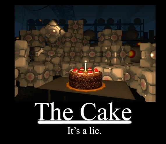 «Сбермаркет» использует в каталоге изображение торта из игры Portal5