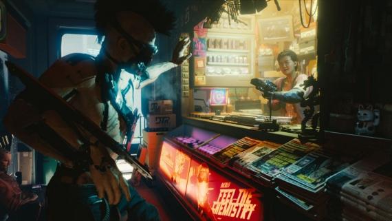 Подробности о Cyberpunk 2077: вид от первого лица и никаких микротранзакций3