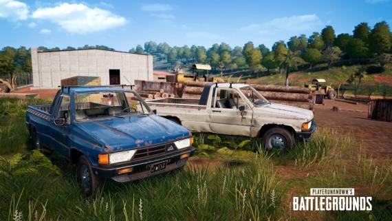 В PUBG появился новый транспорт и оружие2