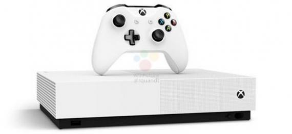 Microsoft перевыпустит консоль Xbox One S без оптического привода1
