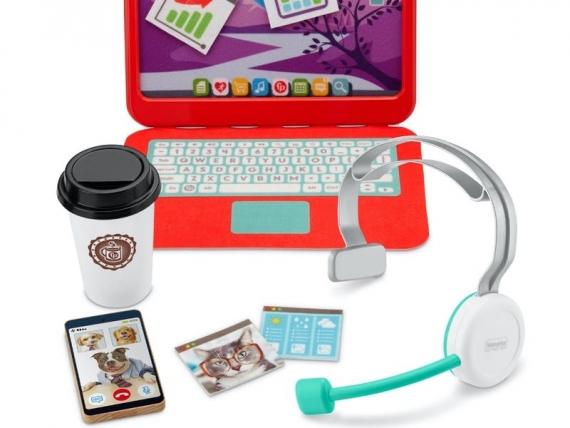 Fisher-Price выпустила игрушки для детей на тему пандемии и удалёнки1