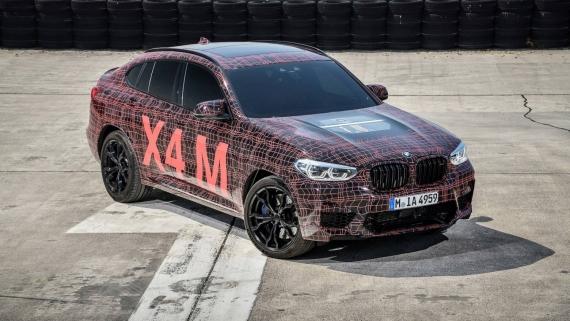 BMW поделилась фотографиями с испытаний X3/X4 M19
