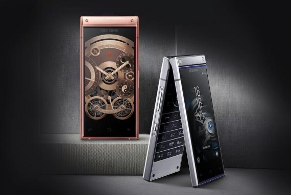 Samsung W2019: «раскладушка» с двумя дисплеями и Snapdragon 8451