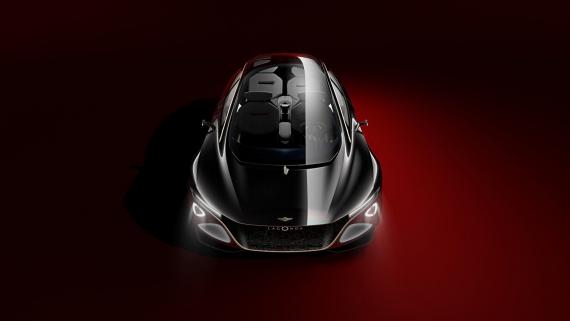 Aston Martin представила роскошный электрический седан1