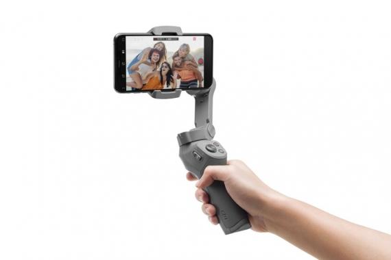 DJI представила складной стабилизатор Osmo Mobile34