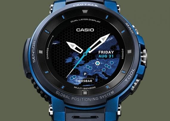 Умные часы Casio WSD-F30 протянут три дня без подзарядки3