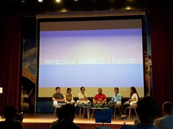 Пресс-завтрак с Meizu: смартфон с NFC, Flyme 7 и Android One12