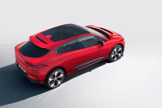 Электрический кроссовер Jaguar I-Pace появится в России2