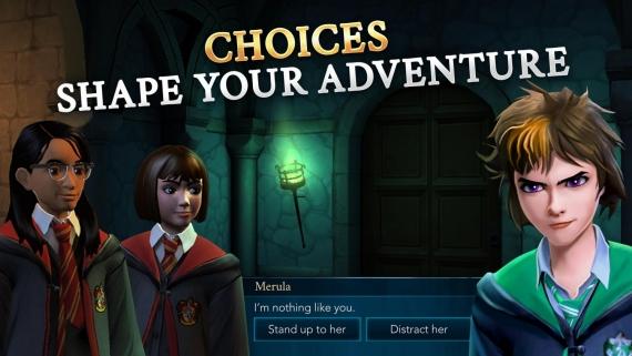 Harry Potter: Hogwarts Mystery доступна для iOS и Android3