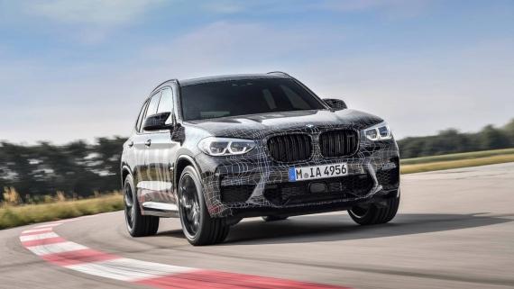 BMW поделилась фотографиями с испытаний X3/X4 M4