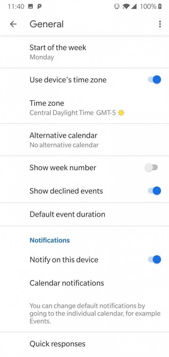 «Google Календарь» 6.0 получил новый MaterialUI7