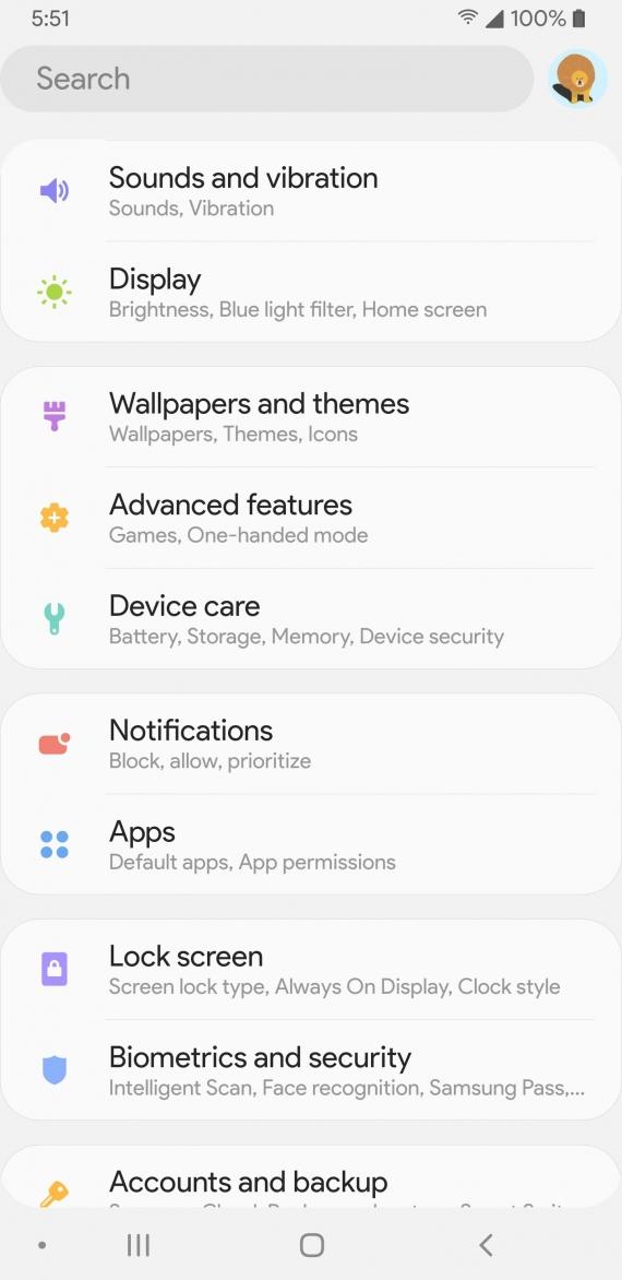 Android Pie привнесёт на устройства Samsung новый интерфейс11
