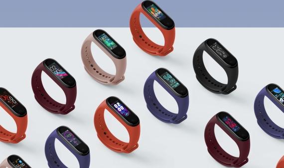 Xiaomi официально представила умный браслет Mi Band 4 с NFC1