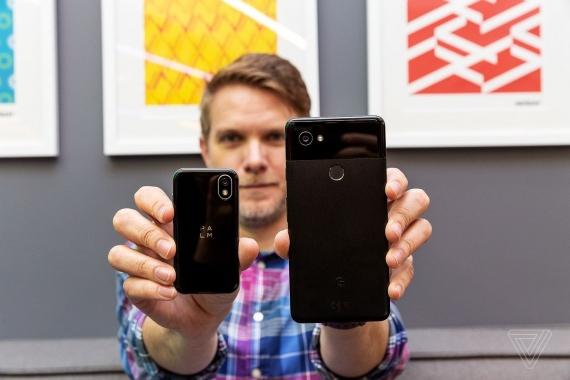 Palm: крохотный Android-смартфон с легендарным именем5