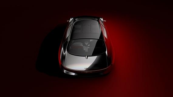 Aston Martin представила роскошный электрический седан2