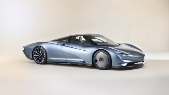 Гибридный гиперкар McLaren Speedtail разгоняется до 403 км/ч2
