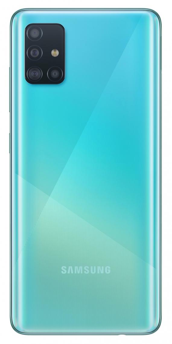 Samsung Galaxy A51: макрокамера и дисплей Infinity-O3