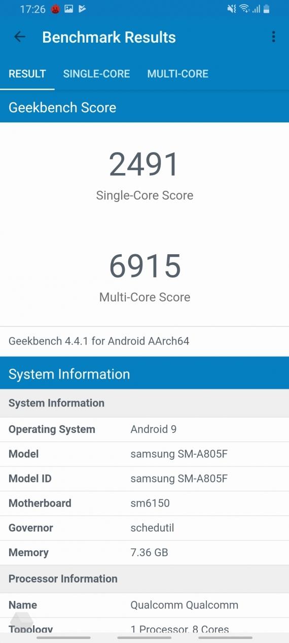 Обзор Samsung Galaxy A80. Помощник инстаблогера15