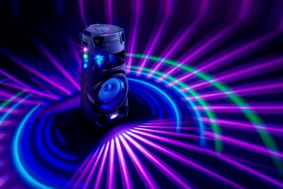 Sony представила четыре моноблочные аудиосистемы для вечеринок1