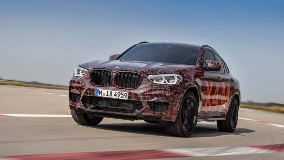 BMW поделилась фотографиями с испытаний X3/X4 M14