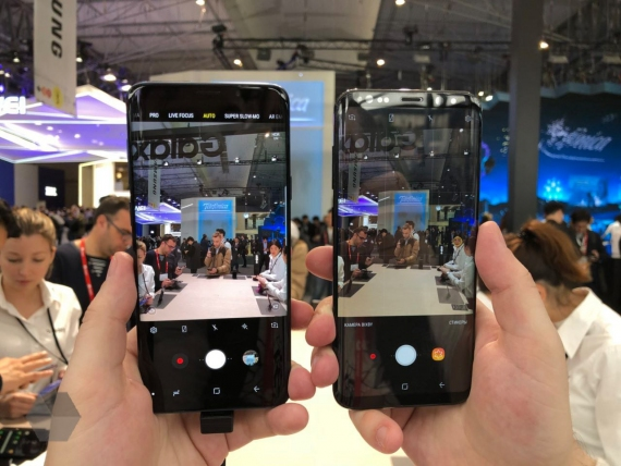Galaxy S9 и S9+ получили переменную диафрагму2