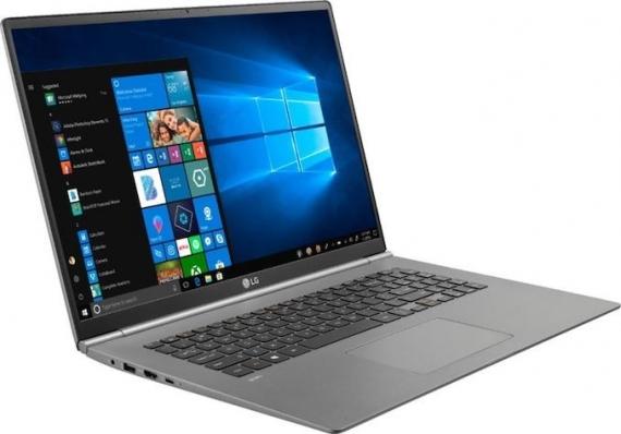 Ультратонкий ноутбук Gram 17 от LG1