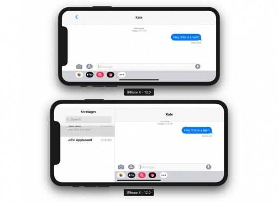 Приложения на iPhone X Plus будут работать, как на iPad1