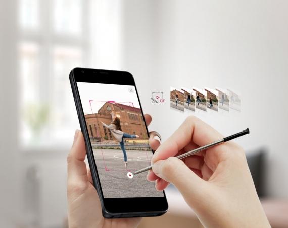 LG Stylo 4: большой дисплей, NFC и стилус в придачу2