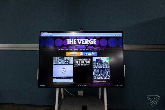 Microsoft Surface Hub 2S: 85-дюймовый дисплей для совместной работы1