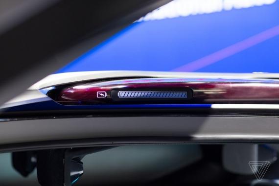 Электрокар будущего без окон и со съёмными фарами5