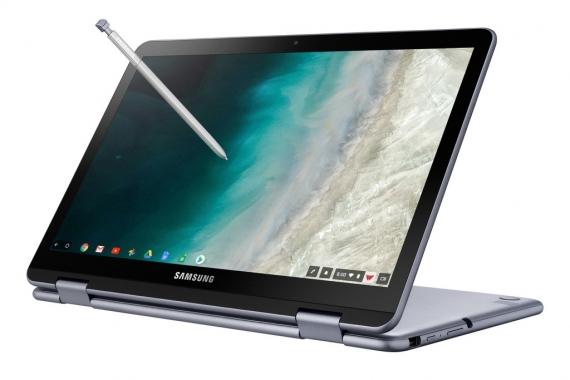 Samsung представила второе поколение Chromebook Plus1
