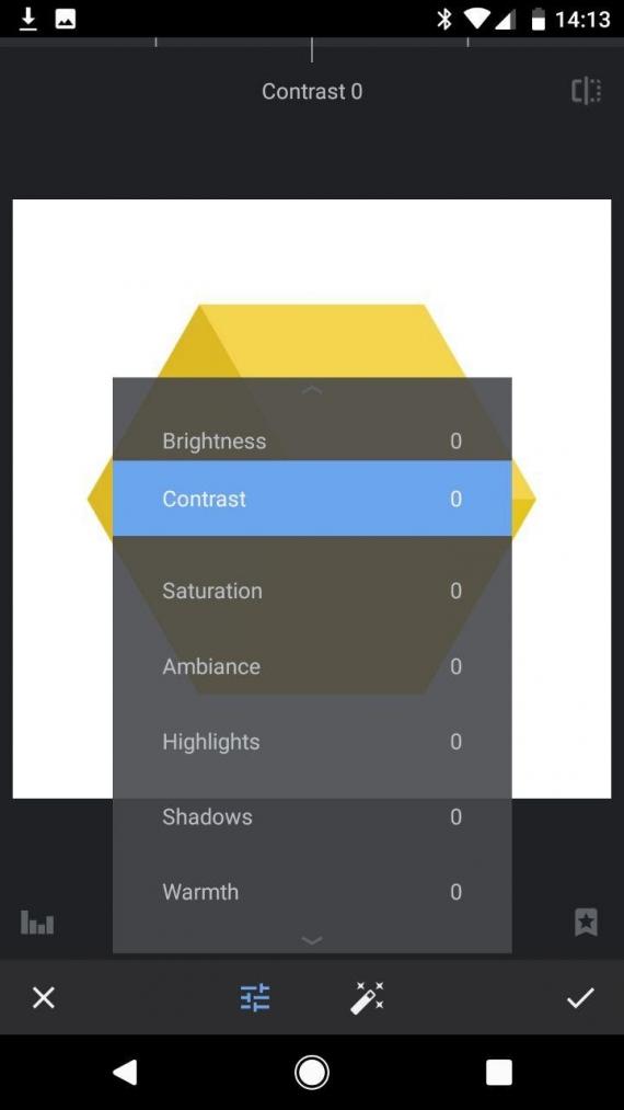 Snapseed для Android получил тёмную тему4