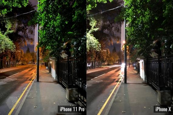 Сравнение ночных снимков iPhone 11 Pro с флагманами конкурентов2