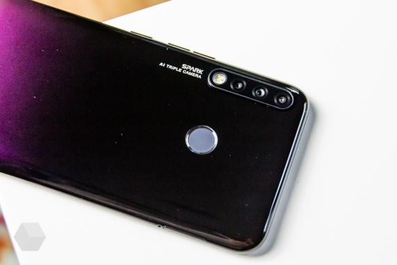 Обзор Tecno Spark 4 — три камеры за «три копейки»7
