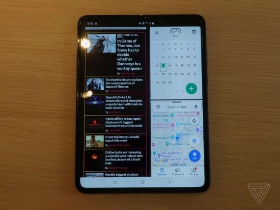 Что говорят журналисты о складном смартфоне Samsung Galaxy Fold5