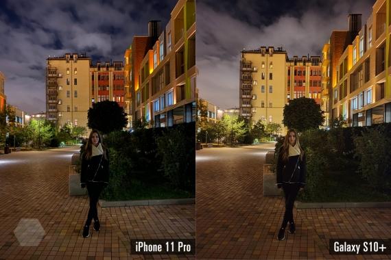 Сравнение ночных снимков iPhone 11 Pro с флагманами конкурентов10