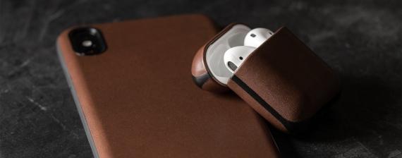 Nomad представила кожаный чехол для AirPods3