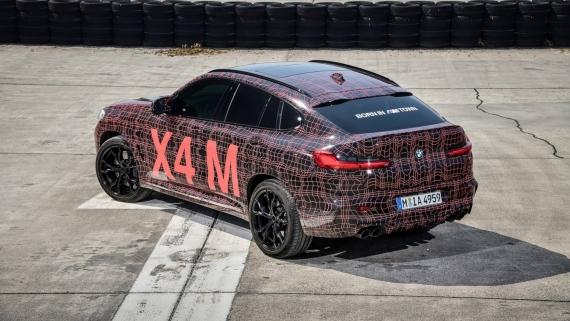 BMW поделилась фотографиями с испытаний X3/X4 M20