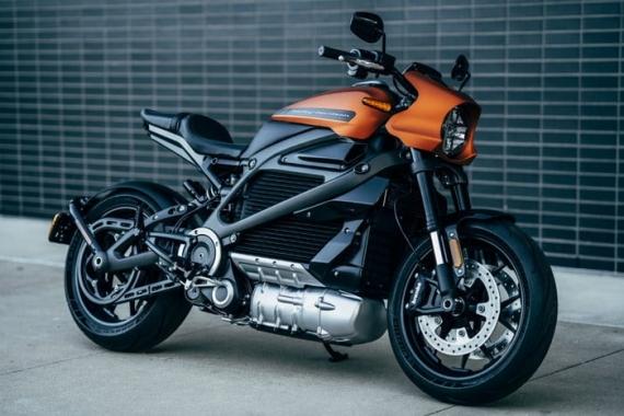 Harley-Davidson представила электрический мотоцикл LiveWire4