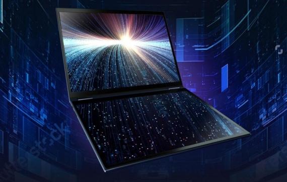 Asus представила ноутбук с двумя дисплеями1