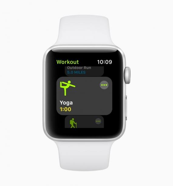 watchOS 5: соревнования, рация и автоматические тренировки1