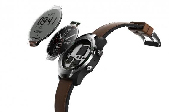 Mobvoi анонсировала умные часы Ticwatch Pro с двумя дисплеями1