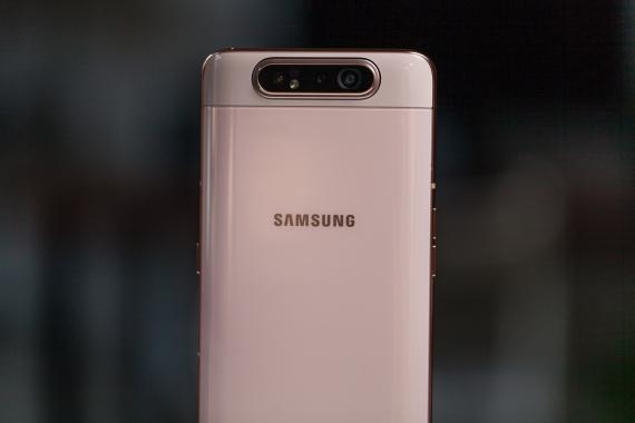Обзор Samsung Galaxy A80. Помощник инстаблогера4